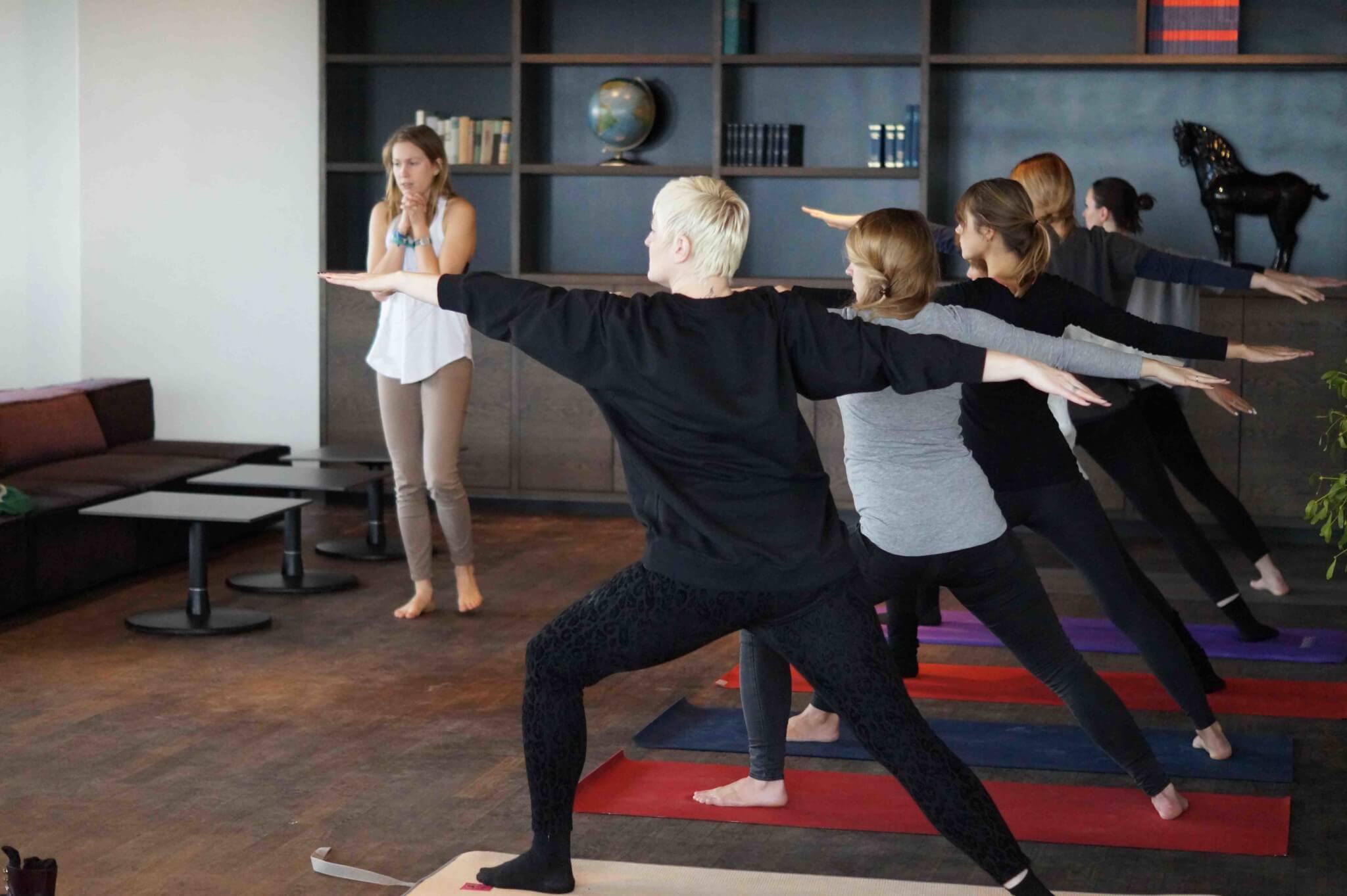 Coaching Workshop Berlin Yoga