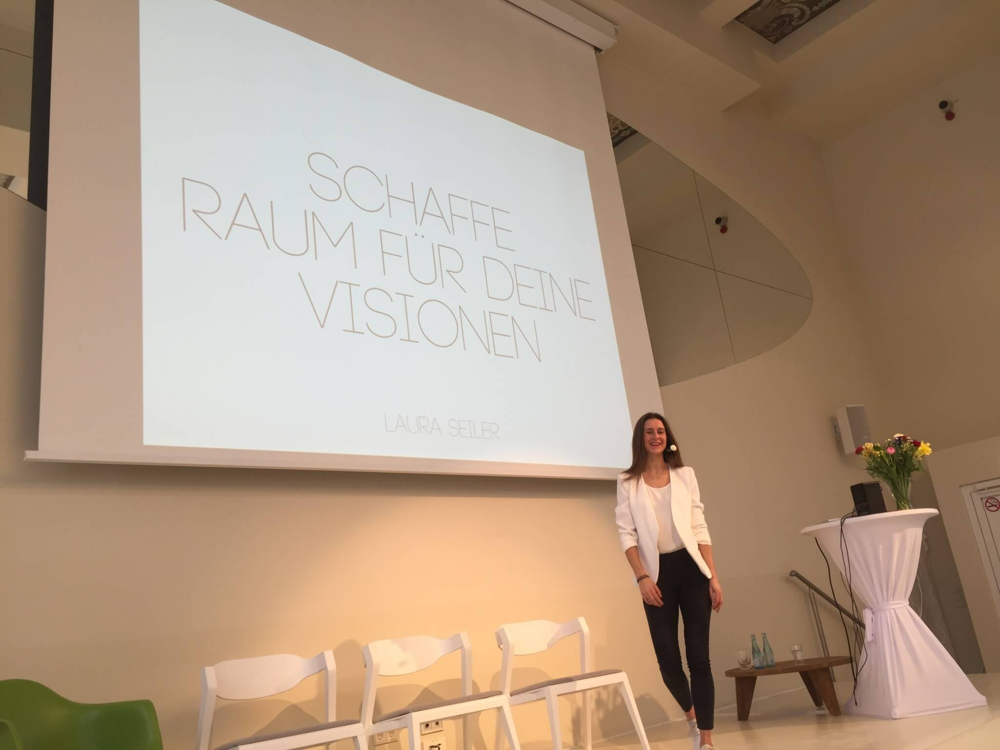 Laura Seiler Coaching Vortrag Berlin