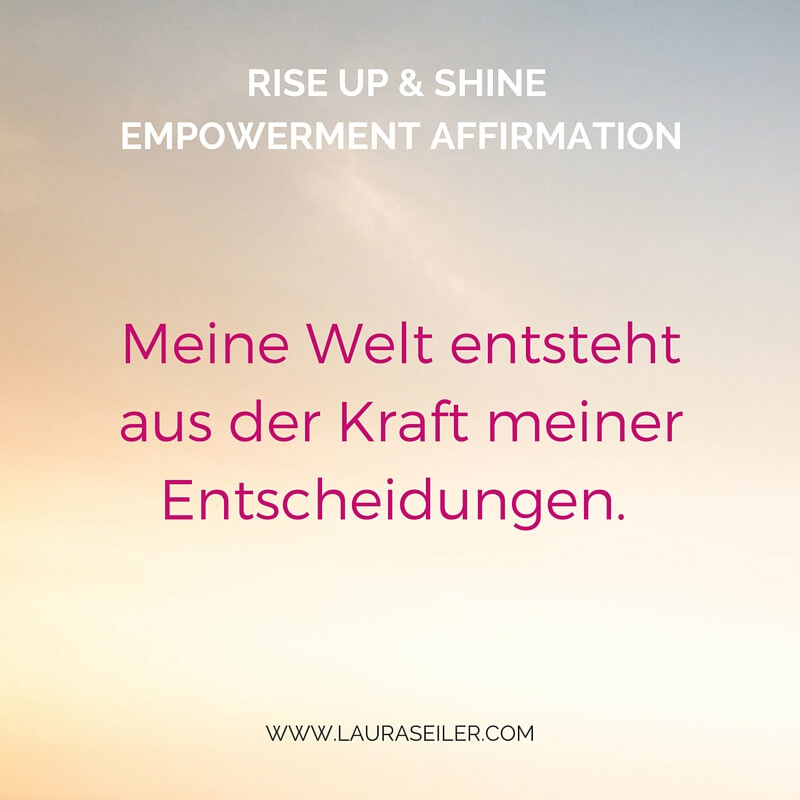 Rise Up & Shine Empowerment Day 13