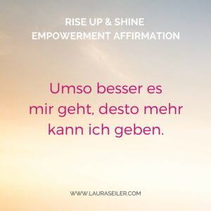 Rise Up & Shine Empowerment Day 15