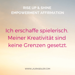 Rise Up & Shine Empowerment Day 6