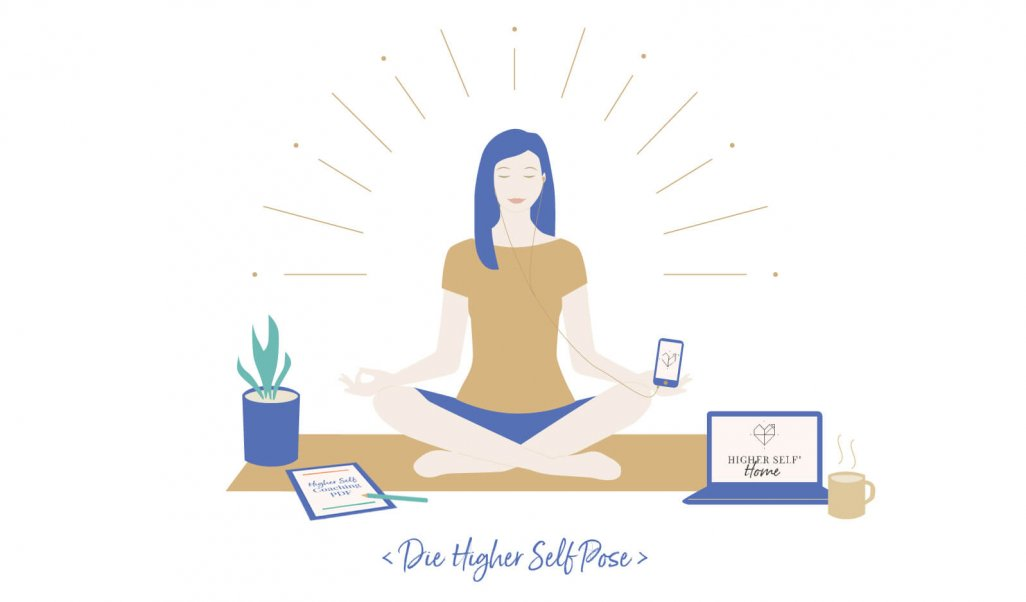 Illustration Higher Self Pose